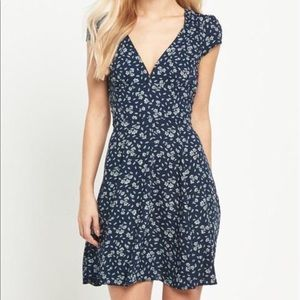 Denim and Supply Melrose Floral fit & flare dress